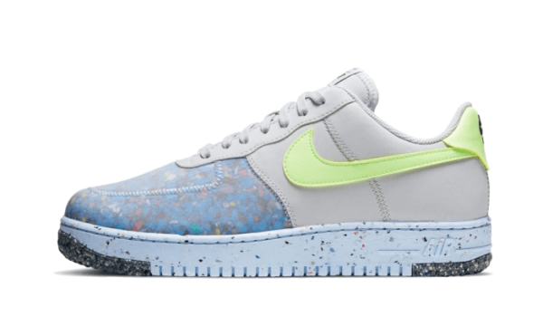 Nike Air Force 1 Low Crater Pure Platinum/Barely Volt-Bianche CZ1524-001