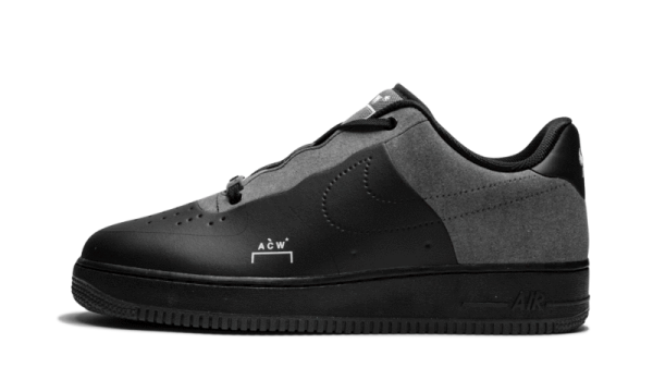 Nike Air Force 1 Low A-Cold-Wall Nere/Bianche-Grigio scuro BQ6924-001