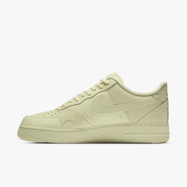 Nike Air Force 1 Misplaced Swoosh Gialle/Gialle CK7214-700
