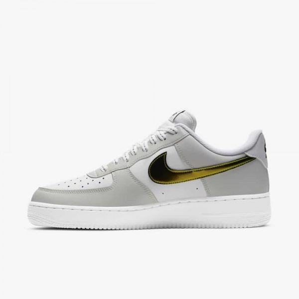 Nike Air Force 1 Low Metallic Bianche/Bianche/Nere/Multi-Color DC9029-100