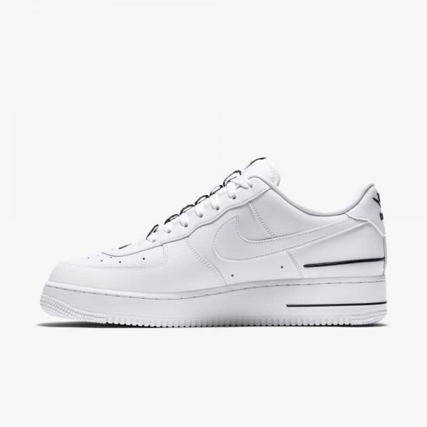 Nike Air Force 1 Double Air Bianche/Bianche-Nere CJ1379-100
