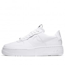 Nike Donne Air Force 1 Pixel Bianche/Nere/Sail CK6649-100