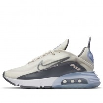 Nike Donne Air Max 2090 Sail/Grigio/Ghost/Barely Rose/Argento metallizzato CT1290-101