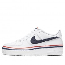 Nike Air Force 1 LV8 1 GS Bianche/Obsidian/Rosse CW0984-100