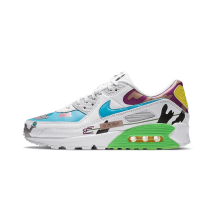 Ruohan Wang x Nike Air Max 90 Flyleather Bianche/Multi-Color CZ3992-900