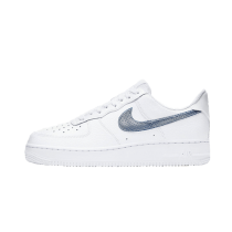 Nike Air Force 1 Low Pony Hair Snakeskin Bianche/Turchese CW7567-100