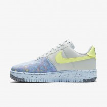 Nike Air Force 1 Crater Pure Platinum/Bianche/Blu/Barely Volt CT1986-001