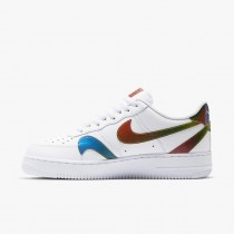 Nike Air Force 1 Misplaced Swoosh Bianche/Multi Color-Bianche CK7214-101