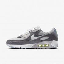 Nike Air Max 90 Recycled Canvas Pack Grigio/Bianche-Barely Volt CK6467-001