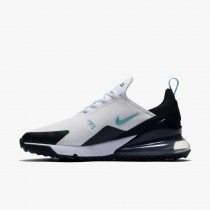 Nike Air Max 270 G Bianche/Nere/Argento metallizzato/Dusty Cactus CK6483-100