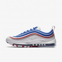 Nike Air Max 97 Bianche/Game Royal/Argento metallizzato/Rosse 921826-404