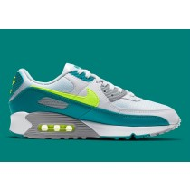 """Nike Air Max 90 """"Spruce Lime"""" Bianche/Hot Lime-Spruce CZ2908-100"""