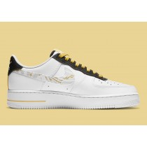 Nike Air Force 1 Bianche/Nere-Gialle DH5284-100