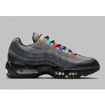 Nike Air Max 95 SE Light Charcoal/Rosse-Nere DD1502-001