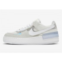 Nike Air Force 1 Low Shadow Pure Platinum/Bianche-Argento metallizzato DC5255-043