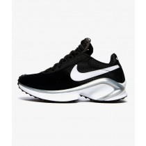 Nike D MS X Waffle Nere/Bianche-Argento metallizzato CQ0205-001