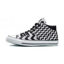 Converse Donne Chuck Taylor All Star Madison Mid Nere/Bianche 565388F