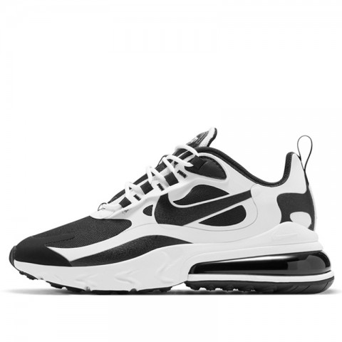 Nike Air Max 270 React Bianche/Nere CT1646-100