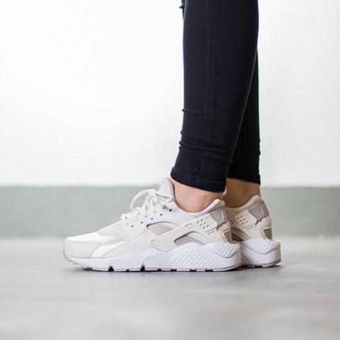 Donne Nike Air Huarache Run Phantom/Light Iron-Bianche 634835-018