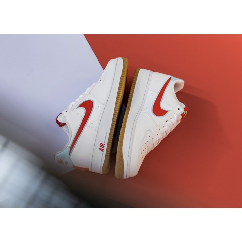 Nike Air Force 1 Low Bianche/Rosse-Glacier Ice DA4660-101