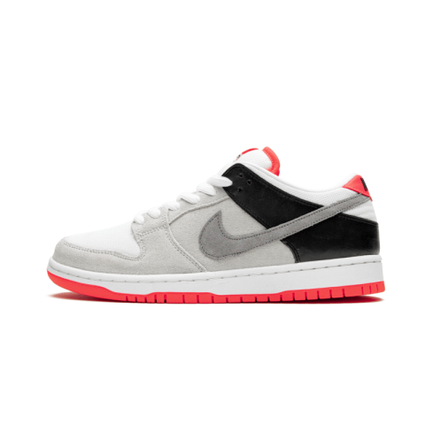 Nike SB Dunk Low Bianche/Grigio-Nere-Infrared CD2563-004
