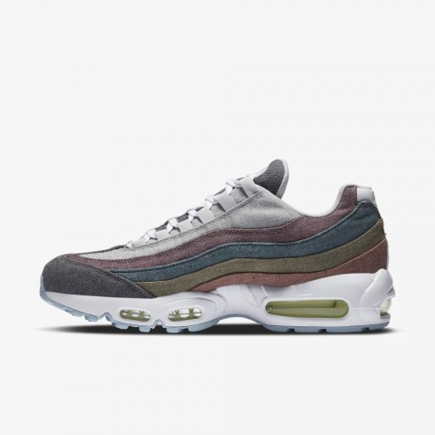 Nike Air Max 95 Recycled Canvas Pack Grigio/Bianche-Barely Volt CK6478-001