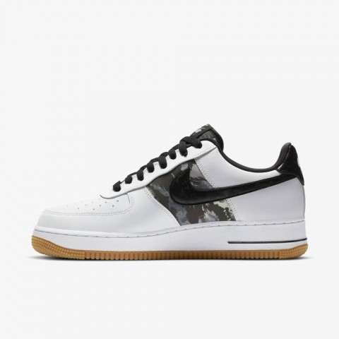 Nike Air Force 1 Bianche/Nere/Camo CZ7891-100