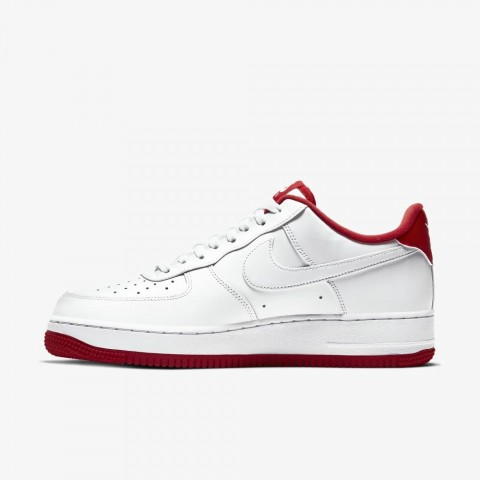 Nike Air Force 1 Bianche/Bianche-Rosse CD0884-101