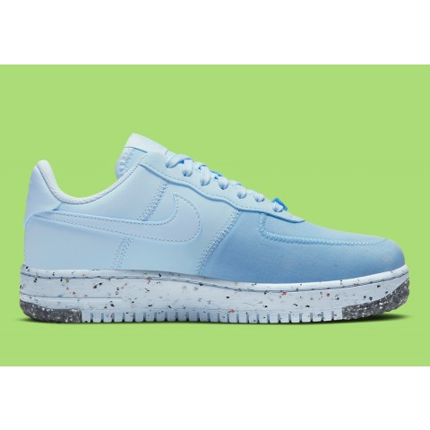 Nike Air Force 1 Crater Blu/Barely Volt CT1986-400