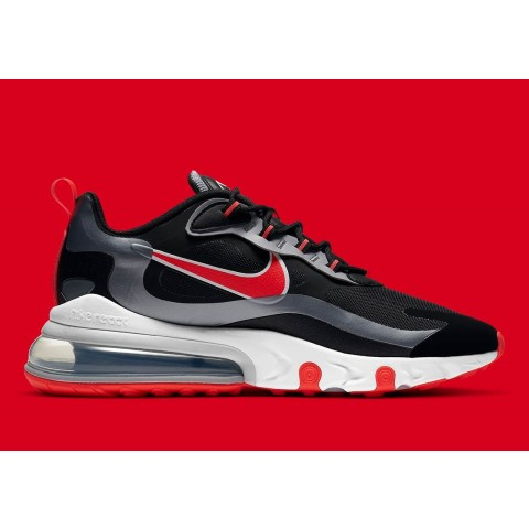 Nike Air Max 270 Nere/Argento-Rosse CT1646-001