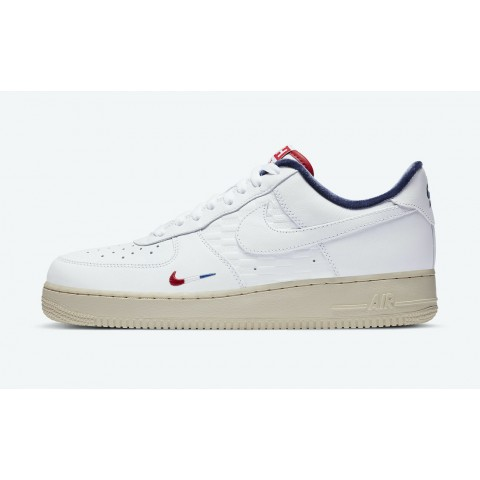 KITH x Nike Air Force 1 'Paris' Bianche/Blu CZ7927-100