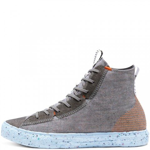 Converse All Star Chuck Taylor High Crater Charcoal/Blu 168597C