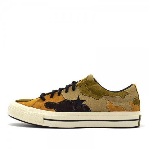 Converse One Star OX Nere/Olive/Wheat 165916C